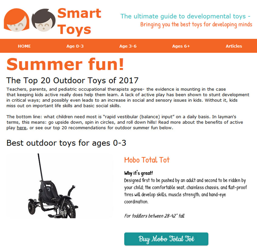 Smart Toys Article